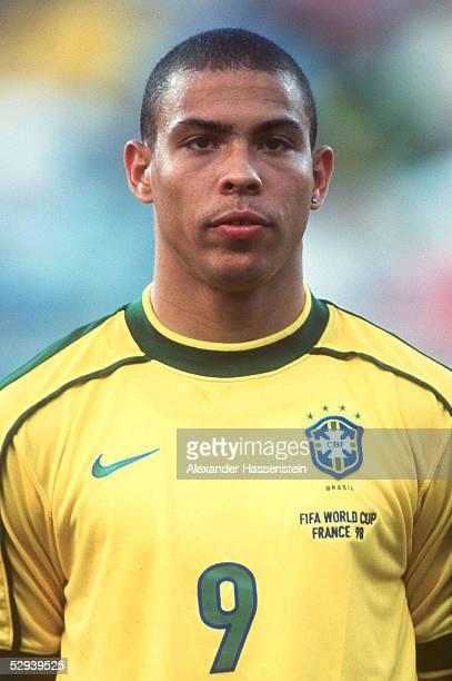 WM 1998 in Frankreich Vorrunde Marseille BRASILIEN NORWEGEN 12 RONALDO/BRA
