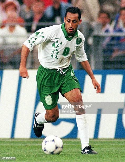 WM 1998 in Frankreich Vorrunde StDenis FRANKREICH SAUDI ARABIEN 40 Sami AL JABER/KSA