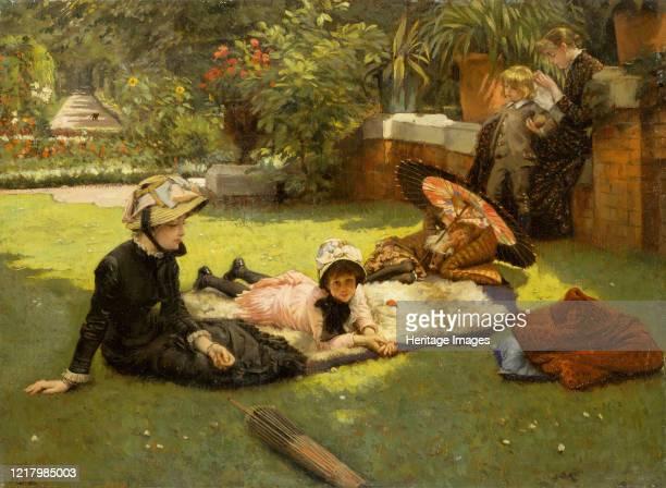 In Full Sunlight , circa 1881. Artist James Tissot.