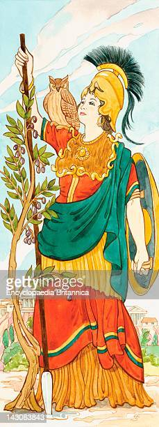 In Greek Mythology Athena Was The Goddess Of War Handicrafts And Wisdom And Reason The Romans Associated Her With Minerva