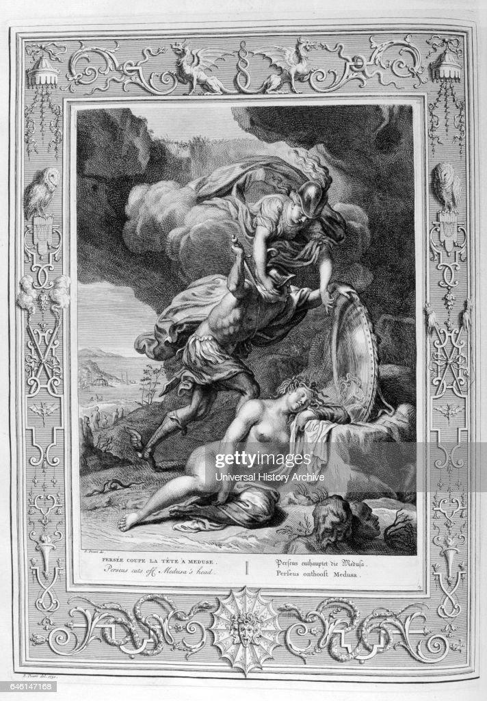 In Greek mythology, Perseus cuts of Medusa the Gorgon's head