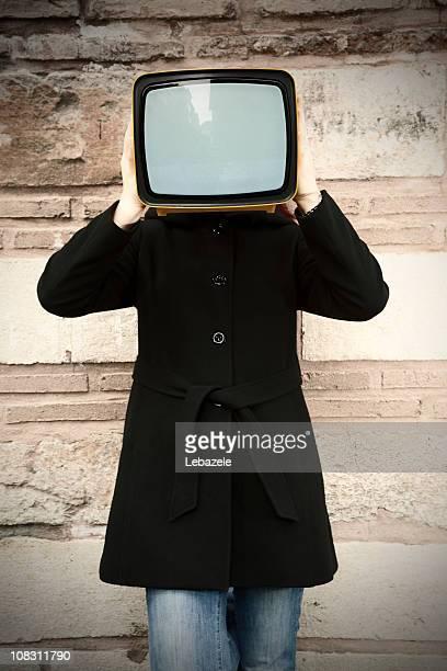 TV. in Hand