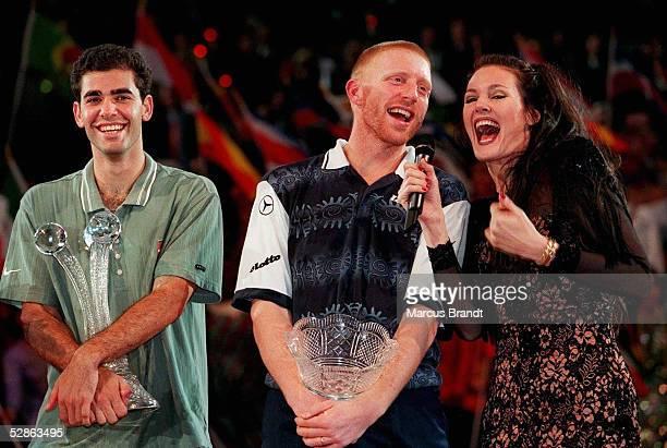 ATP FINALE in Hannover Sieger Pete SAMPRAS /USA Boris BECKER/GER