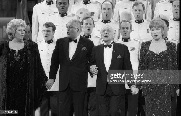 In Harmony Rosemary Clooney Frank Sinatra Leonard Bernstein and Shirley MacLaine join in a musical tribute at Carnegie Hall