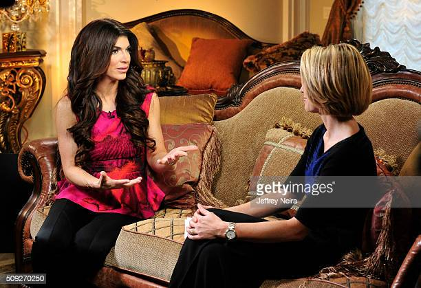 AMERICA In her first interview since her prison release reality star Teresa Giudice talks to Amy Robach from her New Jersey home The interview is...