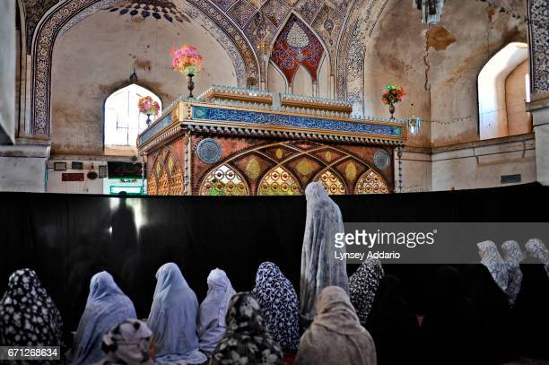 In Herat the shrine to Shahzada Qasim a descendant of the Prophet Muhammad is more than a thousand years old One day of each week a section is...