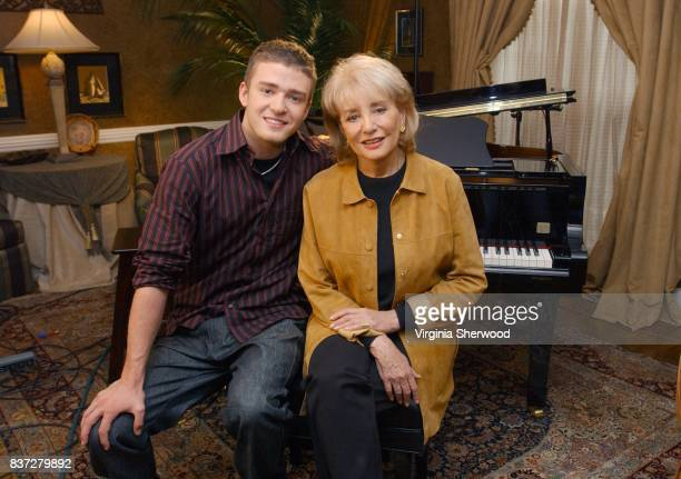 In his first major interview pop sensation Justin Timberlake talked to Walt Disney Television via Getty Images News' Barbara Walters about his career...