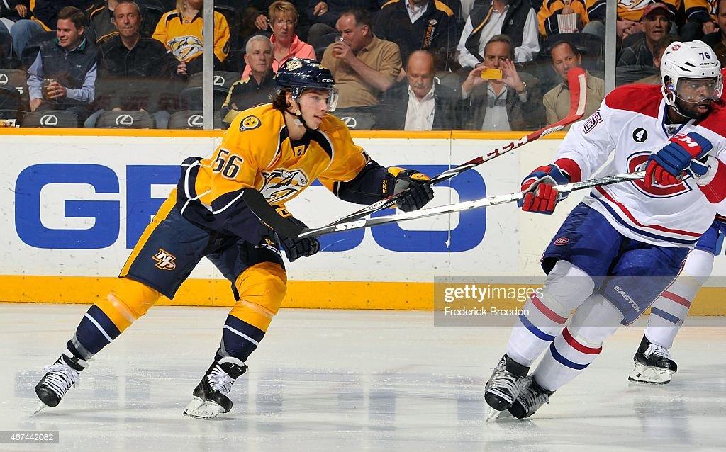 Montreal Canadiens v Nashville Predators : News Photo