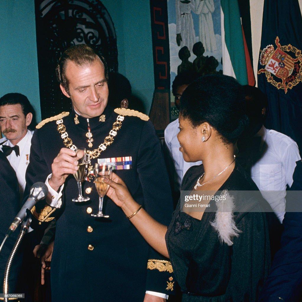 Spanish Royals In Equatorial Guinea. : News Photo