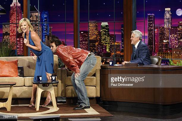 In honor of Charlize Theron kissing Shirley McClane's ass during the Premiere Magazine event Dane Cook praises Charlize before kissing her ass on...