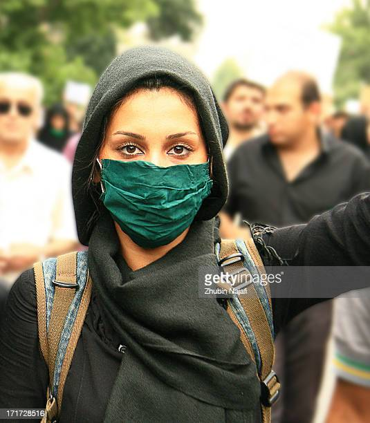 In honor of Neda Agha-Soltan who was shot in the heart by a Basij militia member when she was watching post-presidential election demonstration on...
