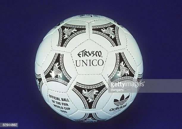 FUSSBALL WM 1990 in ITALIEN Offizieller WM BALL von adidas'ETRUSCO '