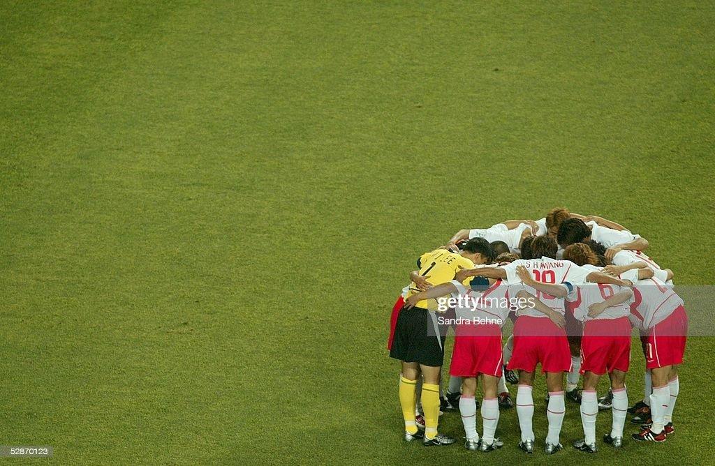 FUSSBALL: WM 2002 in JAPAN und KOREA, KOR - ITA 2:1 n.V. : News Photo