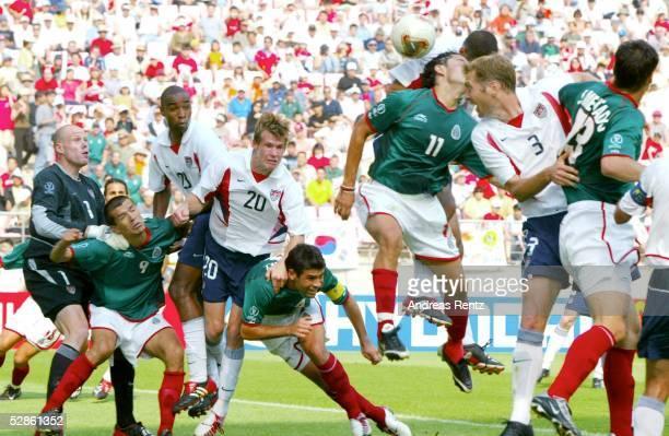 WM 2002 in JAPAN und KOREA Jeonju Match 53/ACHTELFINALE/MEXIKO USA 02 TORSZENE