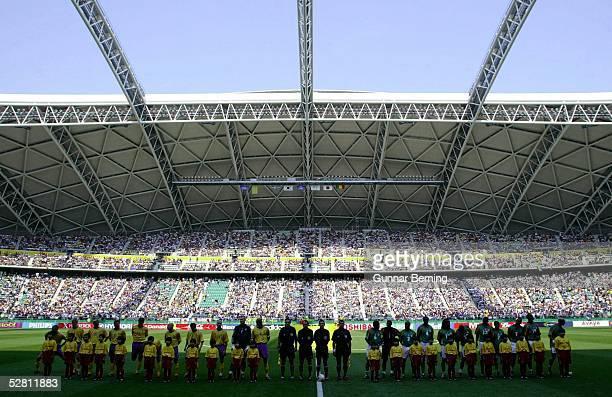 WM 2002 in JAPAN und KOREA Oita MATCH 51/ACHTELFINALE/SCHWEDEN SENEGAL 12 nV Golden Goal UEBERSICHT