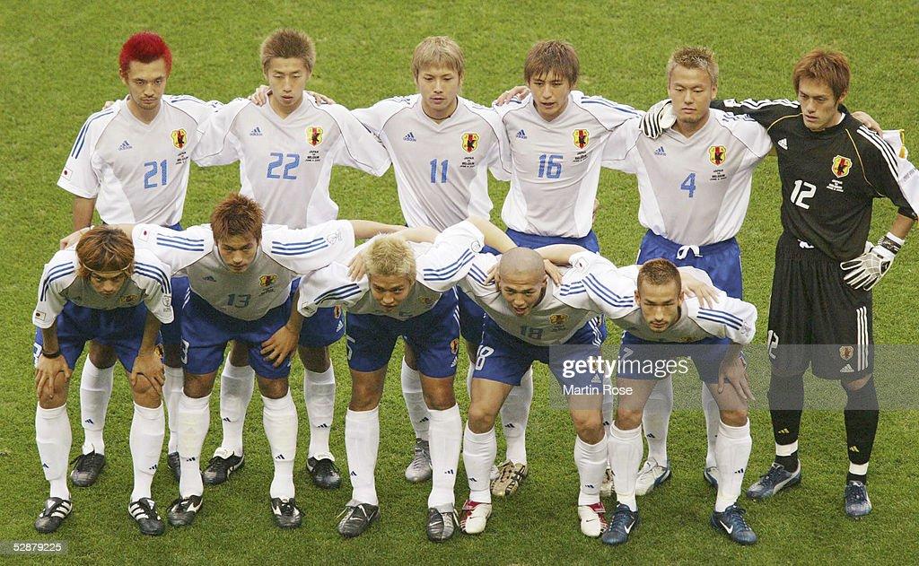 FUSSBALL: WM 2002 in JAPAN und KOREA, JPN - BEL 2:2; : Photo d'actualité