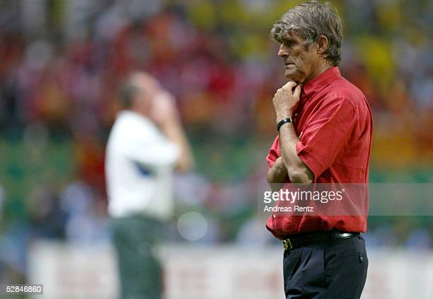 FUSSBALL WM 2002 in JAPAN und KOREA Seogwipo 080602/Match 26 GRUPPE C/BRASILIEN CHINA 40 TRAINER Bora MILUTINOVIC/CHN