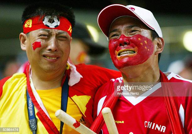 FUSSBALL WM 2002 in JAPAN und KOREA Seogwipo 080602/Match 26 GRUPPE C/BRASILIEN CHINA 40 TRAUER FAN/FANS CHINA