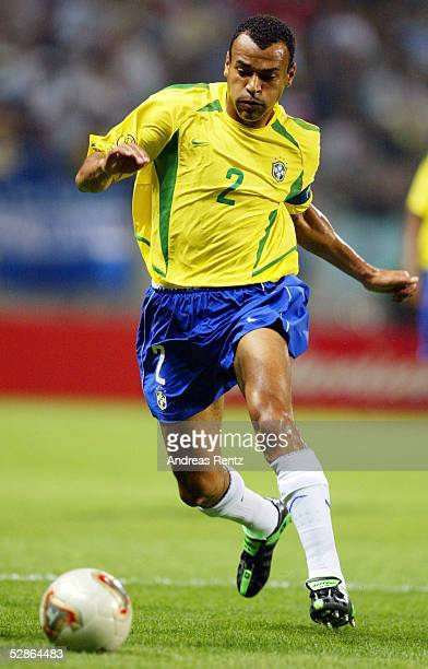 FUSSBALL WM 2002 in JAPAN und KOREA Seogwipo 080602/Match 26 GRUPPE C/BRASILIEN CHINA 40 CAFU/BRA