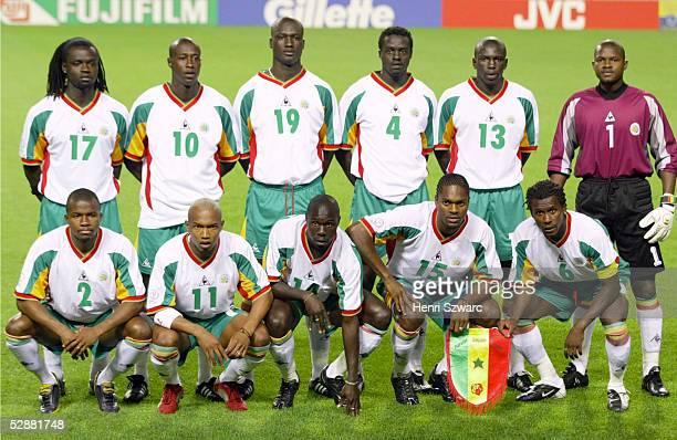 WM 2002 in JAPAN und KOREA Seoul GRUPPE A/FRANKREICH SENEGAL 01 Team/Mannschaft SENEGAL/SEN hintere Reihe vlks Ferdinand COLY Khalilou FADIGA Pape...