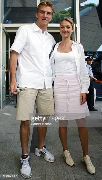 WM 2002 in JAPAN und KOREA Seoul NATIONALMANNSCHAFT/DEUTSCHLAND Marko und Daniela REHMER