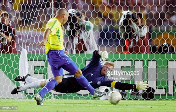 WM 2002 in JAPAN und KOREA Yokohama 300602 Match 64 / FINALE / DEUTSCHLAND BRASILIEN 02 BRASILIEN WELTMEISTER 2002 TOR zum 01 durch RONALDO / BRA...