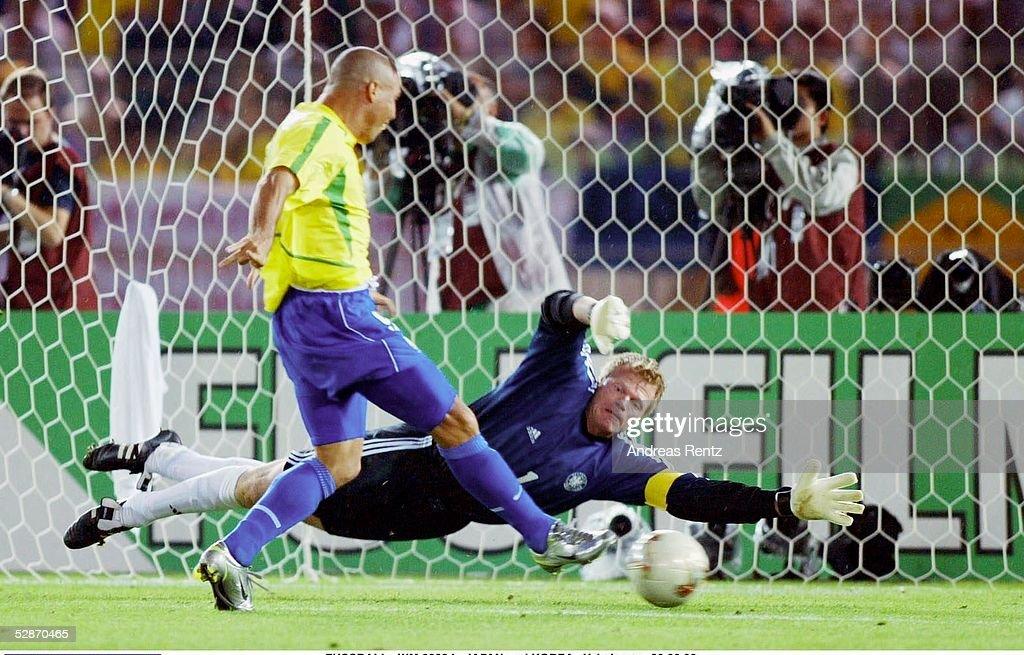 FUSSBALL: WM 2002 in JAPAN und KOREA, FINALE, GER - BRA 0:2 : ニュース写真