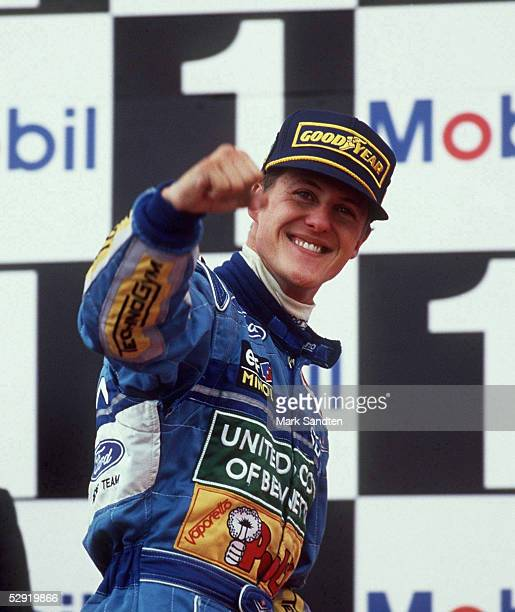 Michael SCHUMACHER /Podium