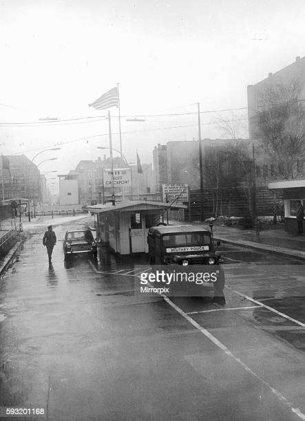 In June 1953 during the workers' revolt in East Germany American and Soviet tanks stood opposite each other in Friedrich Strasse creating a credible...