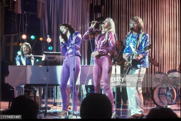 ABBA in Leysin 1979