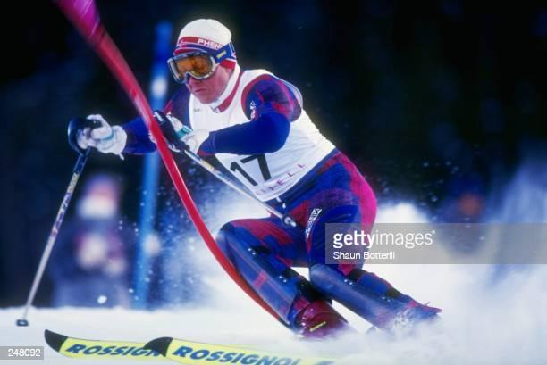In Lillehammer, Norway. Mandatory Credit: Shaun Botterill /Allsport