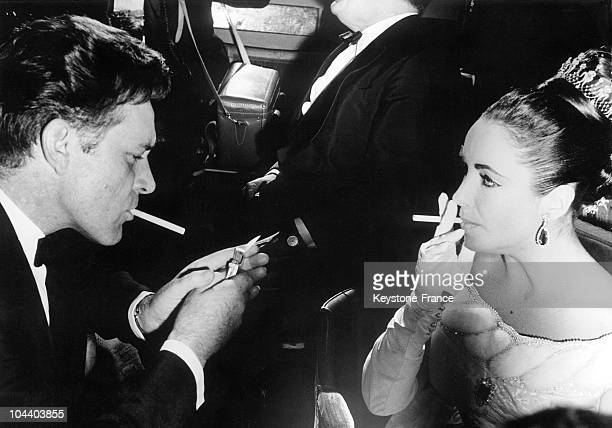 In March 1963, during a gala for the release of the film LAWRENCE OF ARABIA at the Theatre des Champs-Elysees in Paris, the American acting couple...