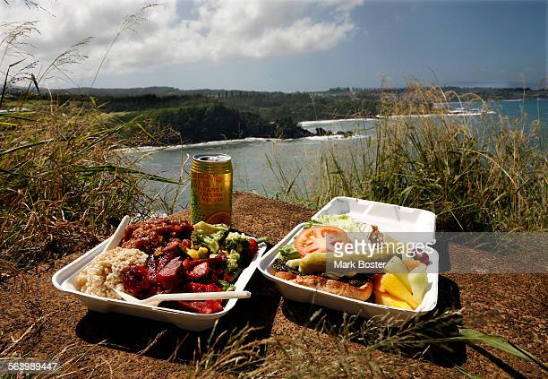 –TWENTY MEALS UNDER $20 in MAUI – The Honolua Store sells box lunches and breakfasts to eat on their patio or take to the beach –Char Siu Pork and...