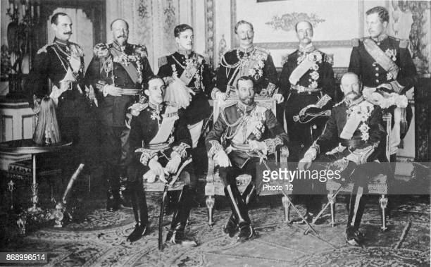 In May 1910 European royalty gathered in London for the funeral of King Edward VII Among the mourners were nine reigning kings who were photographed...