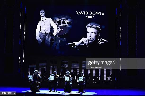 'In Memoriam' during the 70th Annual Tony Awards at The Beacon Theatre on June 12 2016 in New York City