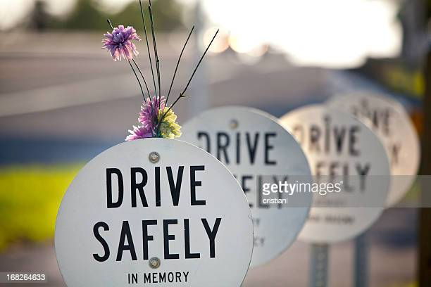 in memory - roadside stock pictures, royalty-free photos & images