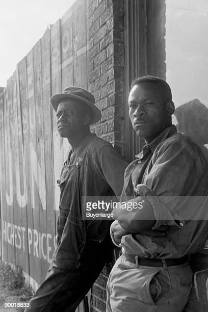 In Memphis Tennessee hundreds of colored laborers congregated near the bridge every morning at daylight in hopes of work chopping cotton on a...
