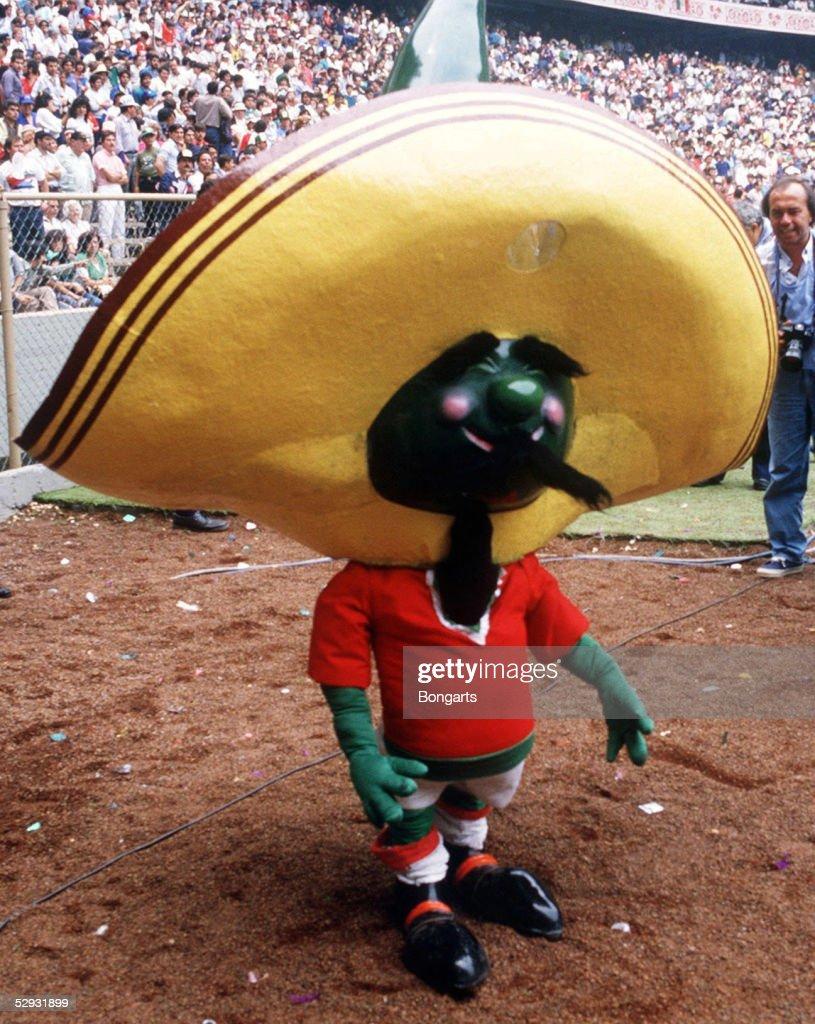 WM 1986 in MEXIKO, Mexiko City; WM MASKOTTCHEN'PIQUE '