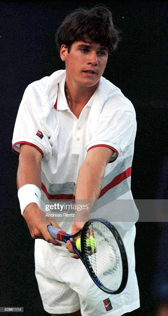 TENNIS: KEY BISCANE 1997 in Miami Florida 23.3.97 : News Photo