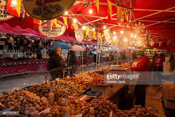 CONTENT] In Milan like every year in December are set up a lot of market stalls where you can buy handicrafts sweets and typical food from various...