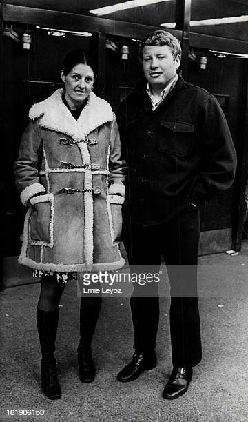 JAN 15 1973 JAN 16 1973 In Monday Night Stock Show Audience Mr and Mrs Adolph Coors IV arrive at the Coliseum for Western show Events will continue...