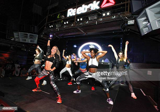 AKT in Motion Class at Marquee on September 16 2015 in New York City