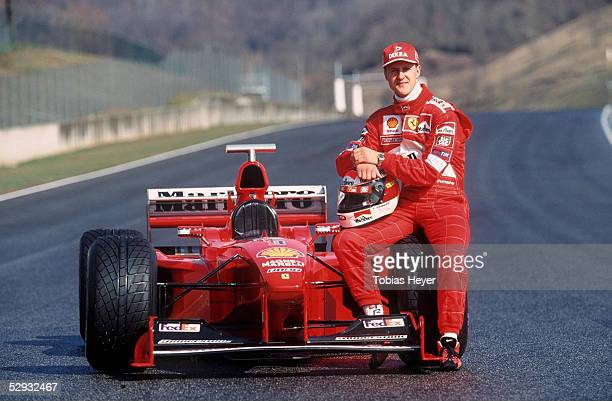 TESTFAHRTEN 1999 in Mugello Michael SCHUMACHER/GER PRAESENTATION