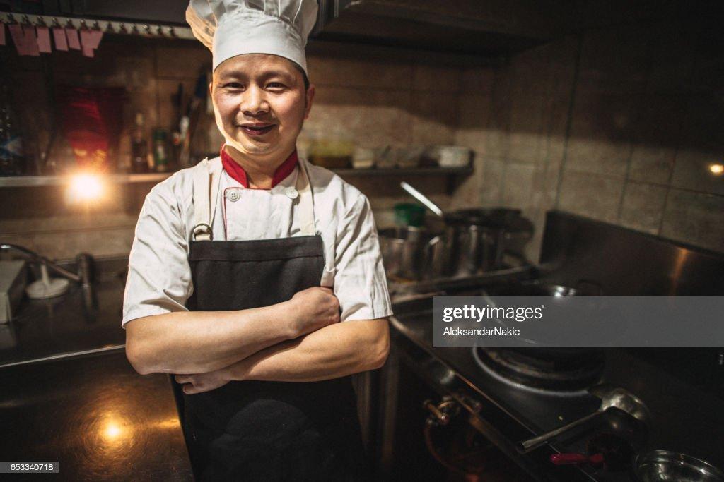In mijn keuken : Stockfoto