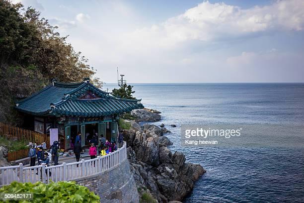 In Naksansa Temple Yangyang county Gangwondo Province Korea