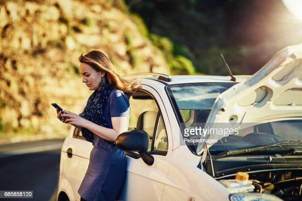in need of some roadside assistance - stranded stock photos and pictures