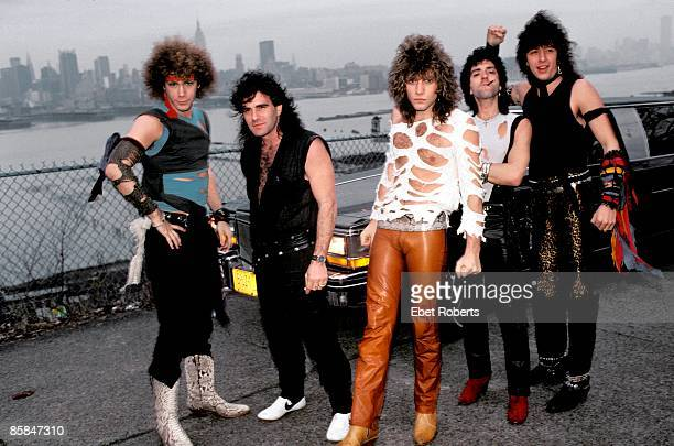 UNITED STATES BON JOVI in New Jersey 13th April 1984