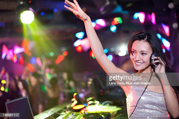 DJ in nightclub