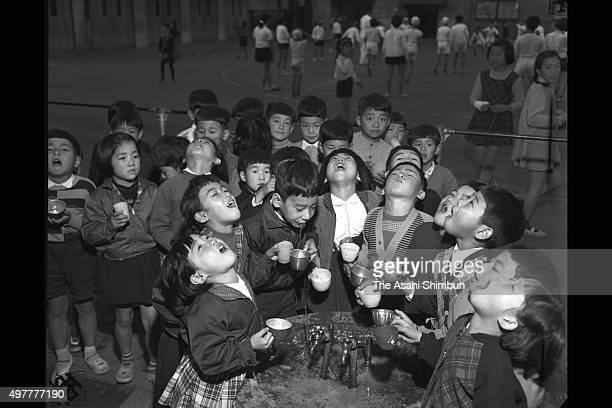 In November 1957 there was an outbreak of the flu at schools in Tokyo The vaccination they were waiting for was not available in time because of a...