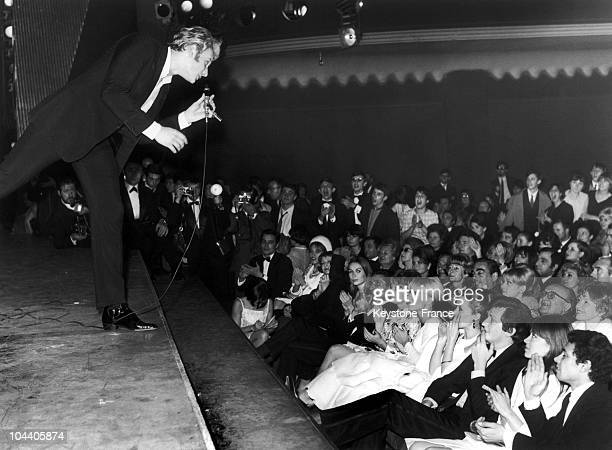 In November 1965 at the Olympia in Paris the French singer preformed in front of Alain DELON Gilbert BECAUD Sylvie VARTAN and Francoise HARDY None of...